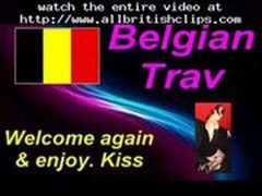 Belgian Trav Blowing Eastern European Cock  british euro brit european cumshots swallow