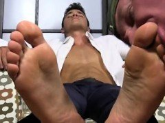 Gay mexican boys sucking toes Matthew's Size ten Feet