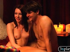 Horny couples swinging and groupsex in Playboy mansion