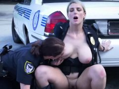 Reality cop show about naughty busty cop