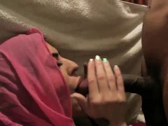 Young party Hot arab chicks attempt foursome