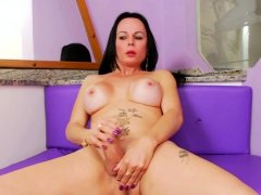 TS Paula Davila Having Some Solo Fun