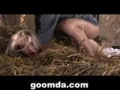 blonde sexy girl doing hardcore sex with farmer hardcore sex 2